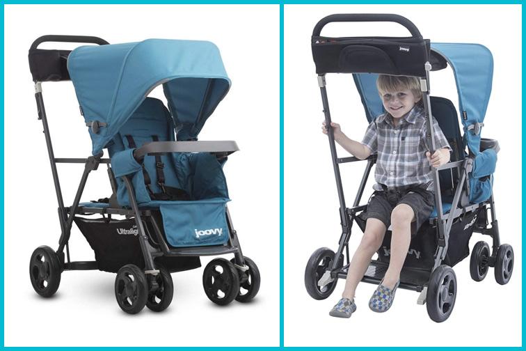 Joovy Caboose Ultralight Graphite Stroller for Disney; Courtesy of Amazon