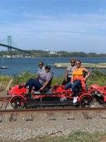 Rail Explorers Rhode Island; Courtesy of TripAdvisor Traveler Dee