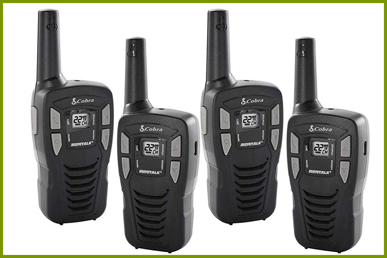 Best Cruise Walkie Talkies For: A Mini Road Trip on an ATV Excursion; Courtesy of Amazon