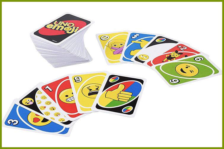 Mattel Games Uno Emoji Card Game; Courtesy of Amazon