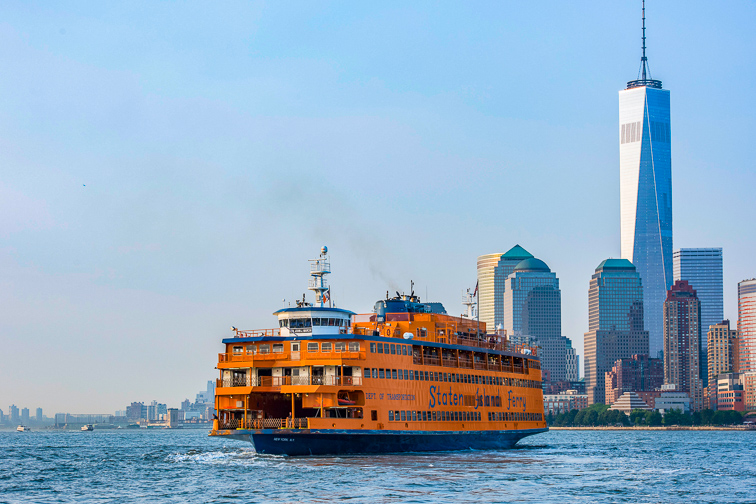 Ride the Staten Island Ferry  ;Courtesy of NYC & Company