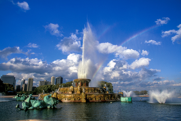 Be Wowed by Buckingham Fountain;Courtesy of Choose Chicago