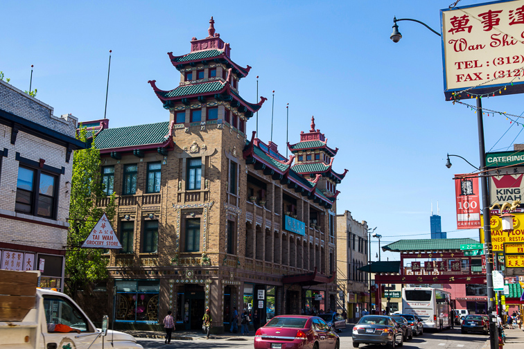 Immerse Yourselves in Chinese Culture in Chicago's Chinatown;Courtesy of Choose Chicago