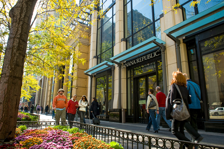 Go Window Shopping on the Magnificent Mile or State Street;Courtesy of Choose Chicago