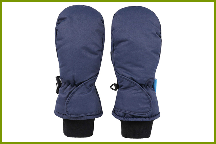 Livingston Kids' Thinsulate Insulated Waterproof Snow Ski Mittens; Courtesy of Amazon