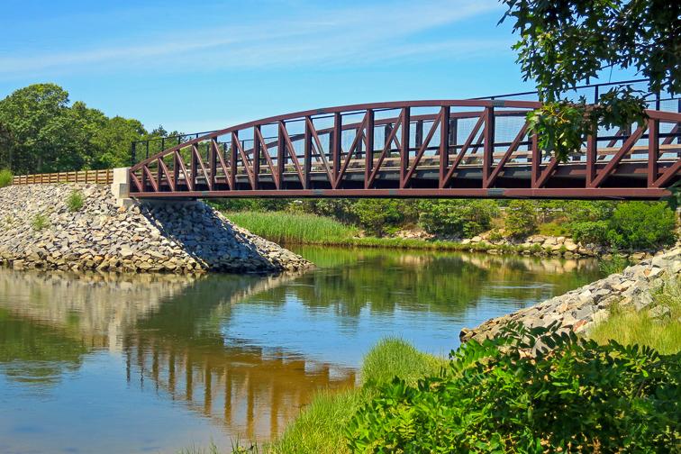 Cycle the Cape Cod Rail Trail; Courtesy of Jim Bogosian/Shutterstock