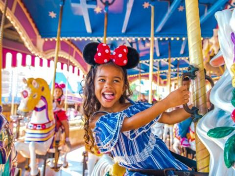Disney World Carousel; Courtesy of Walt Disney World