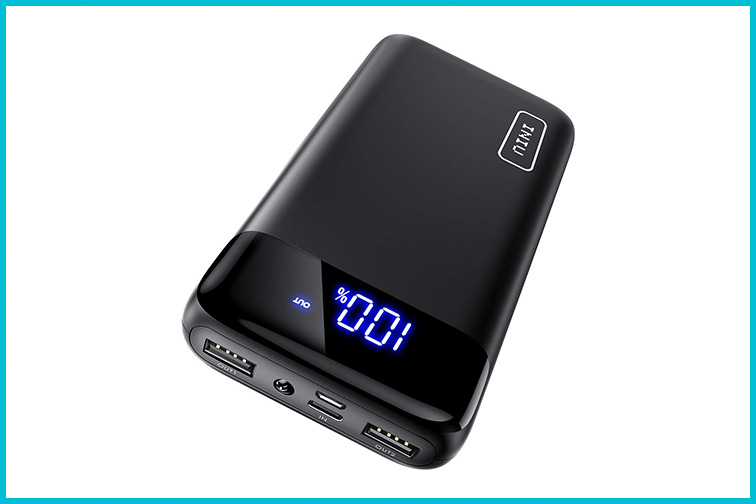 INIU 20000mAh LED Power Bank; Courtesy of Amazon