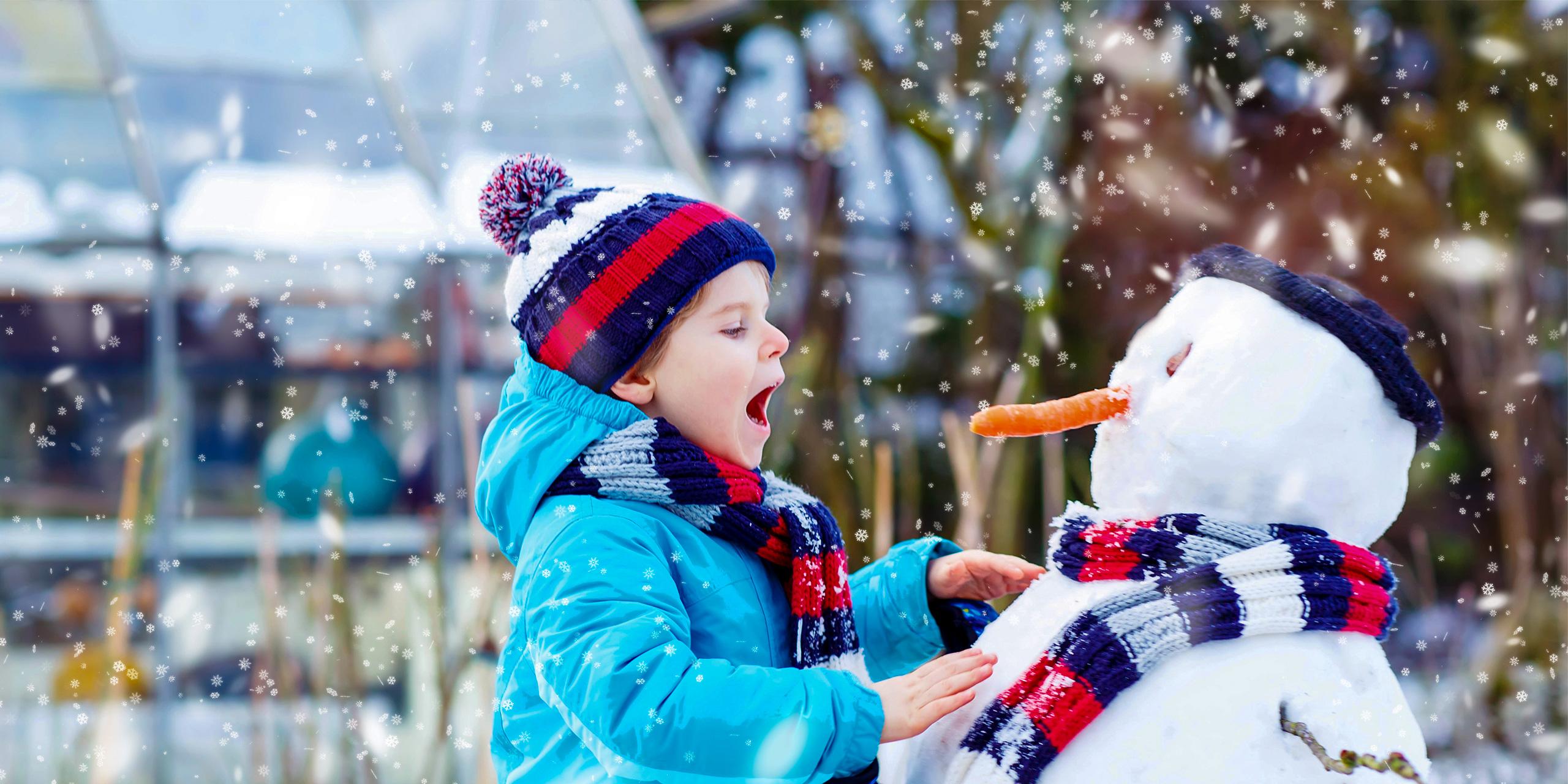 PURPLE Childrens Bobble Hat Thermal Winter Fleece for kids Boys /& Girls
