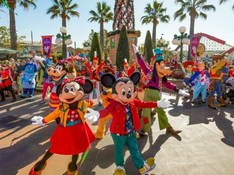 Disneyland celebrates the holidays; Courtesy Disney