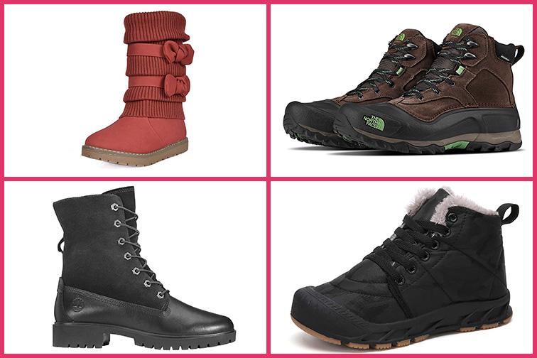Winter Packing List for Europe: Boots; Courtesy of Amazon