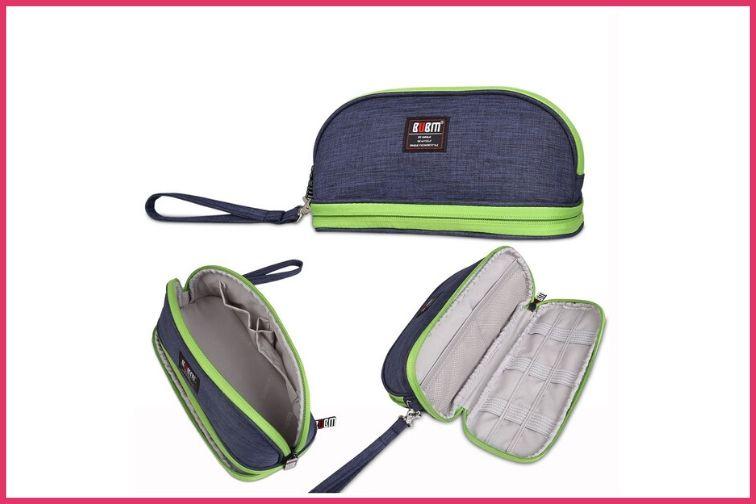 BUBM Small Purse Toiletry Handbag; Courtesy of Amazon