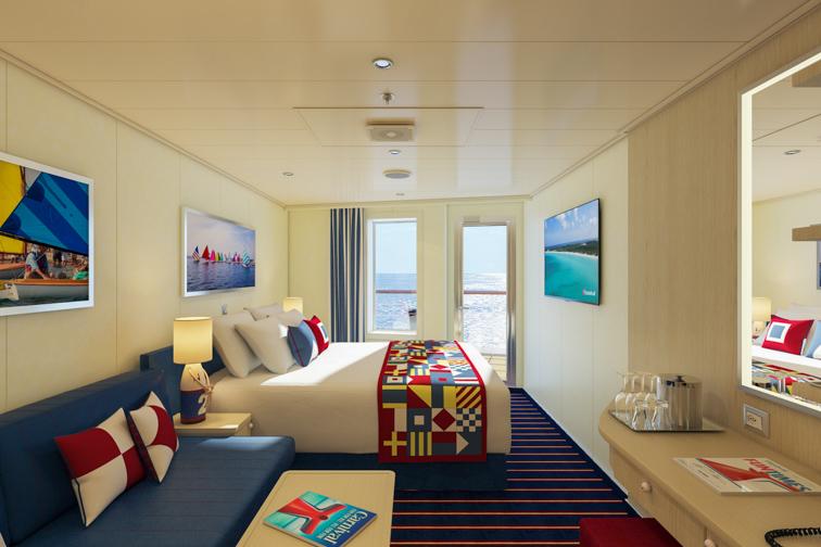 Carnival Vista-Class Ships - Family Harbor Staterooms; Courtesy Carnival