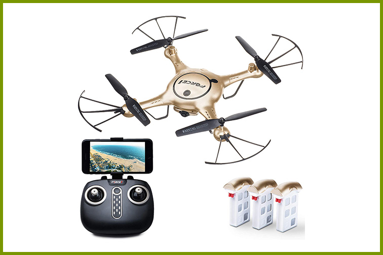 Force1 Drones with Camera for Adults; Courtesy Amazon