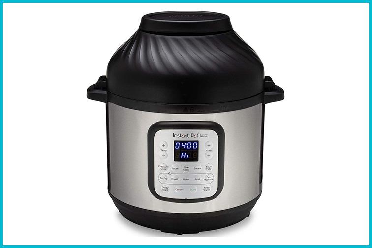 Instant Pot Duo Crisp + Air Fryer; Courtesy Amazon