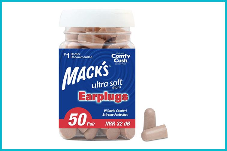 Mack's Ultra Soft Foam Earplugs; Courtesy Amazon