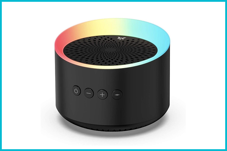 Axloie Portable Bluetooth Speaker with Colorful Lights; Courtesy Amazon