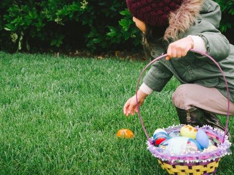 Girl with Easter Basket; Courtesy of Twenty20