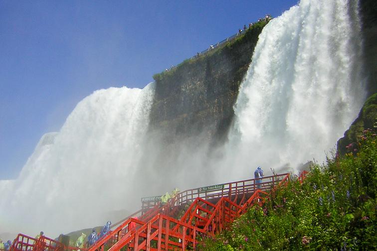 Niagara Falls Cave of the Winds; Courtesy Visit Buffalo Niagara