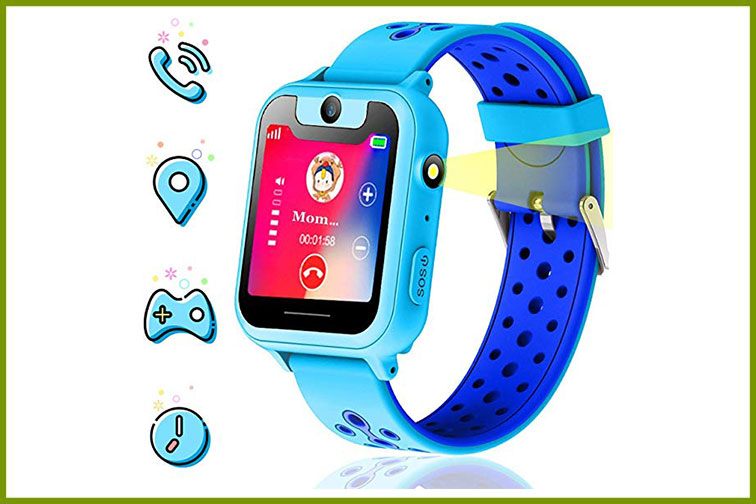 Themoemoe Kids Smartwatch; Courtesy of Amazon