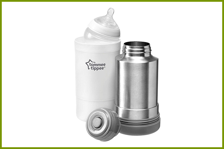 Tommee Tippee Portable Bottle Warmer; Courtesy Amazon