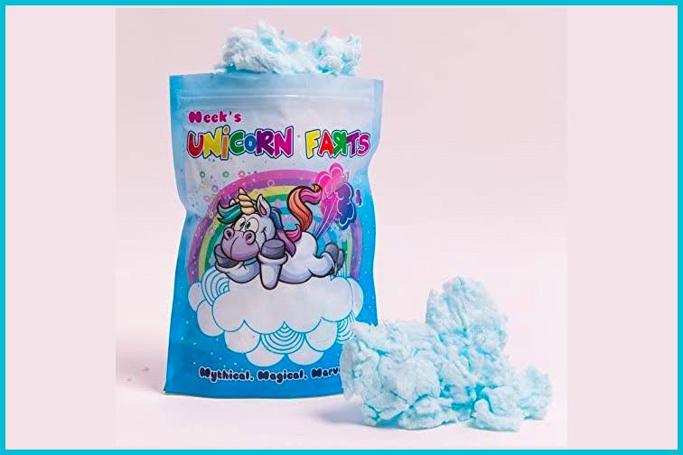 Unicorn Farts Cotton Candy; Courtesy Amazon