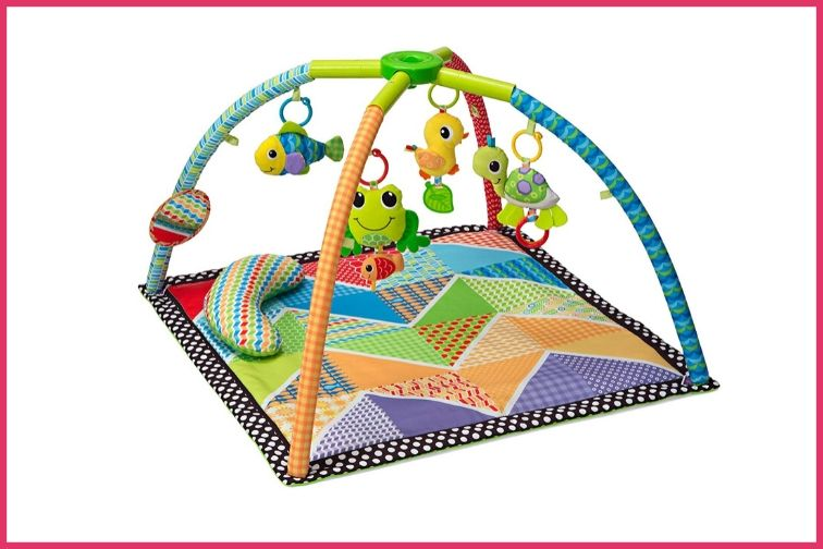 Infantino Pond Pals Twist and Fold Activity Mat