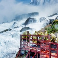 Visitors at Niagara falls; Courtesy Lidiia Kozhevnikova/Shutterstock