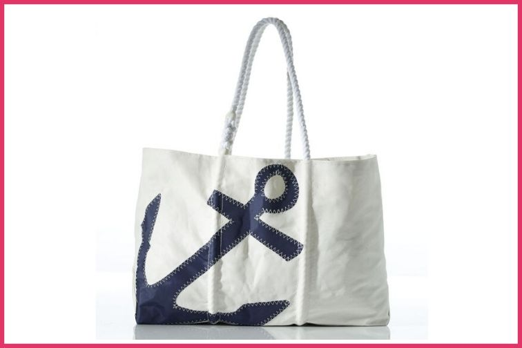 Sea Bags Tote, Extra Large Anchor design