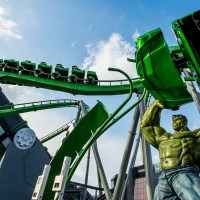 Incredible Hulk Coaster; Courtesy Universal Studios