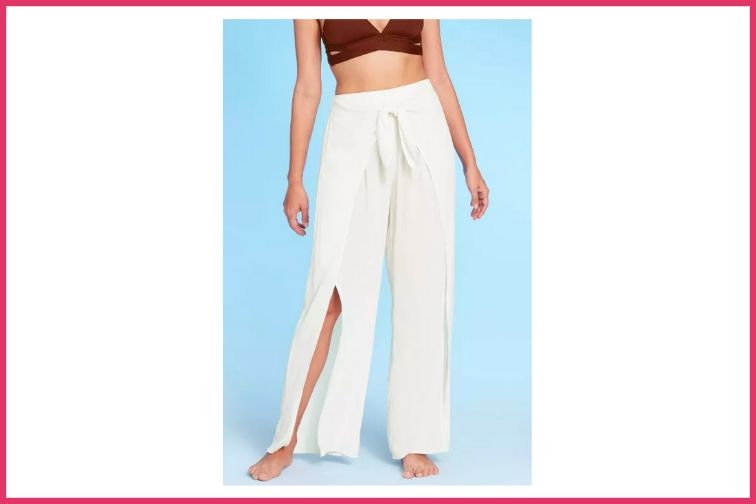 Tie Waist Cover Up Pants