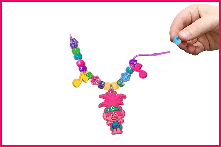 DreamWorks Trolls World Tour Necklace Activity Set; Courtesy Target