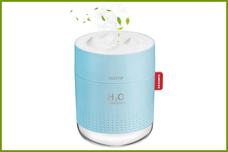 Movtip Portable Mini Humidifier; Courtesy Amazon