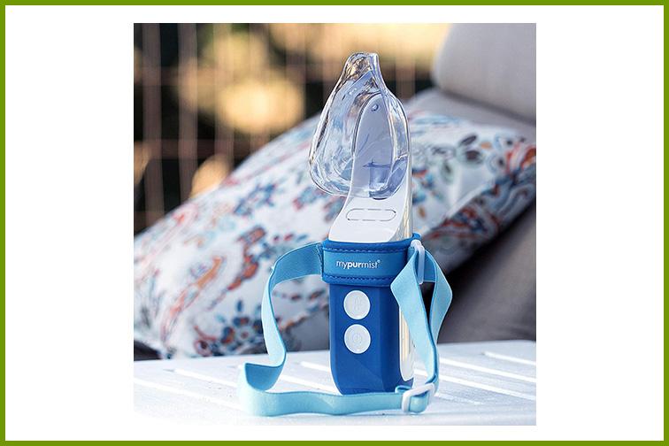 Mypurmist Ultrapure Handheld Personal Steam Inhaler; Courtesy Amazon