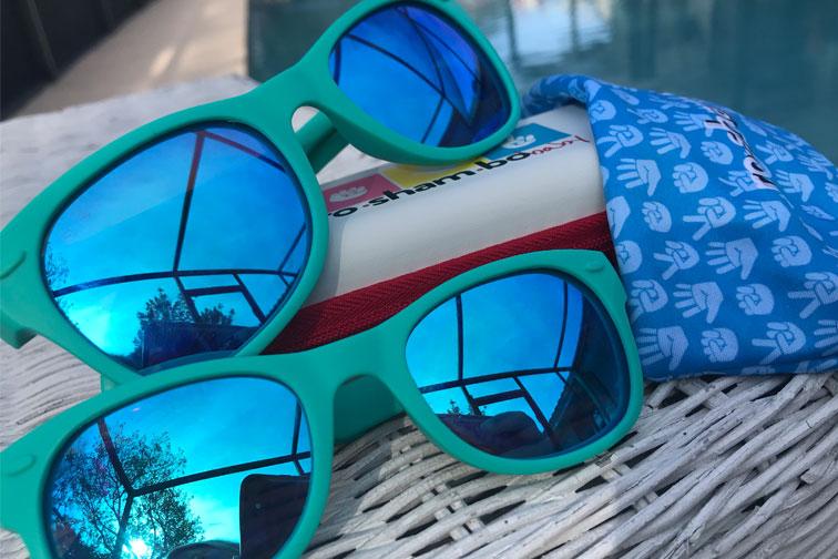 Roshambo baby and toddler sunglasses; Courtesy of Courtney Elko