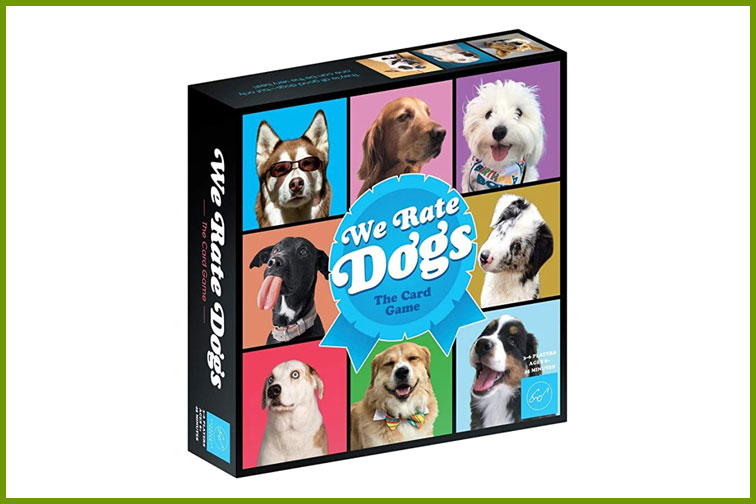 We Rate Dogs Family Card Game; Courtesy of Amazon