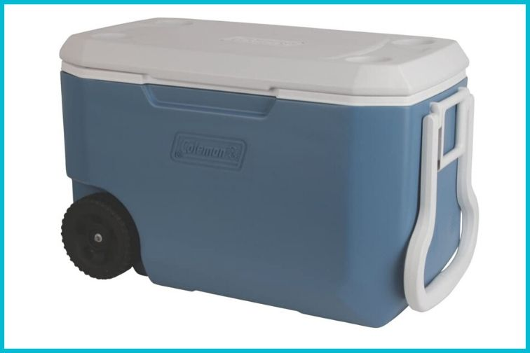 Coleman 62-Quart Xtreme 5-Day Heavy-Duty Cooler with Wheels