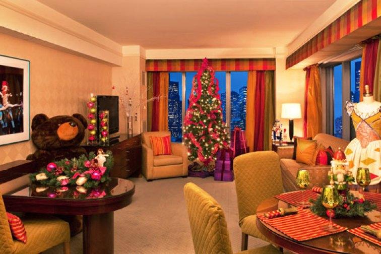 The Nutcracker Suite at The Plaza in New York City; Courtesy of The Ritz-Carlton, Boston Common