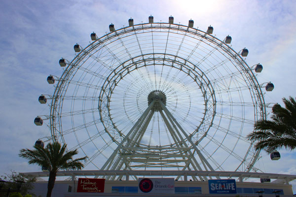 The Orlando Eye at I-Drive 360 in Orlando, Florida.