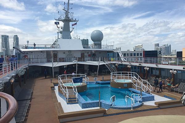 Lido Deck onboard Adonia.