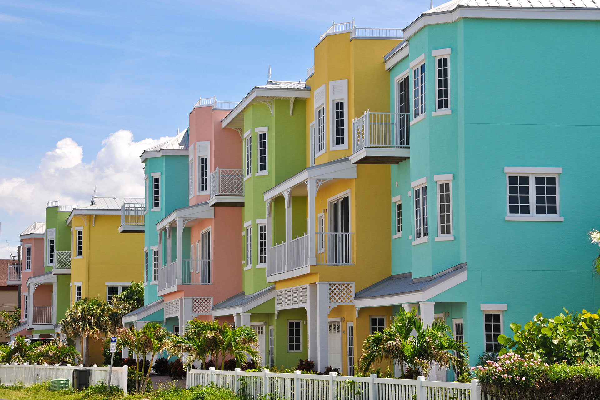 Colorful Beach Rentals