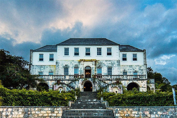 Rose Hall Great House in Montego Bay, Jamaica.