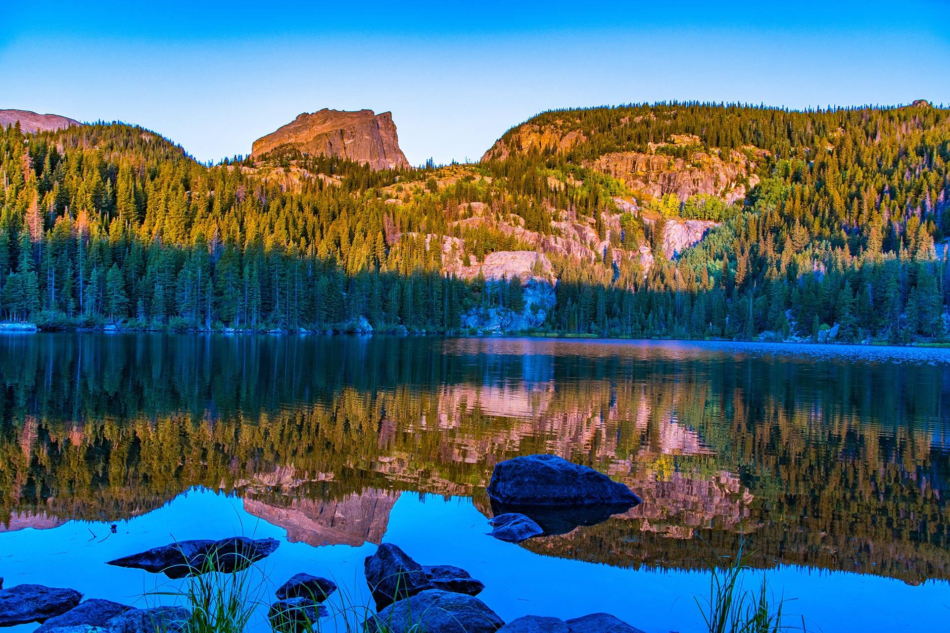 Rocky Mountain National Park, Colorado, USA.