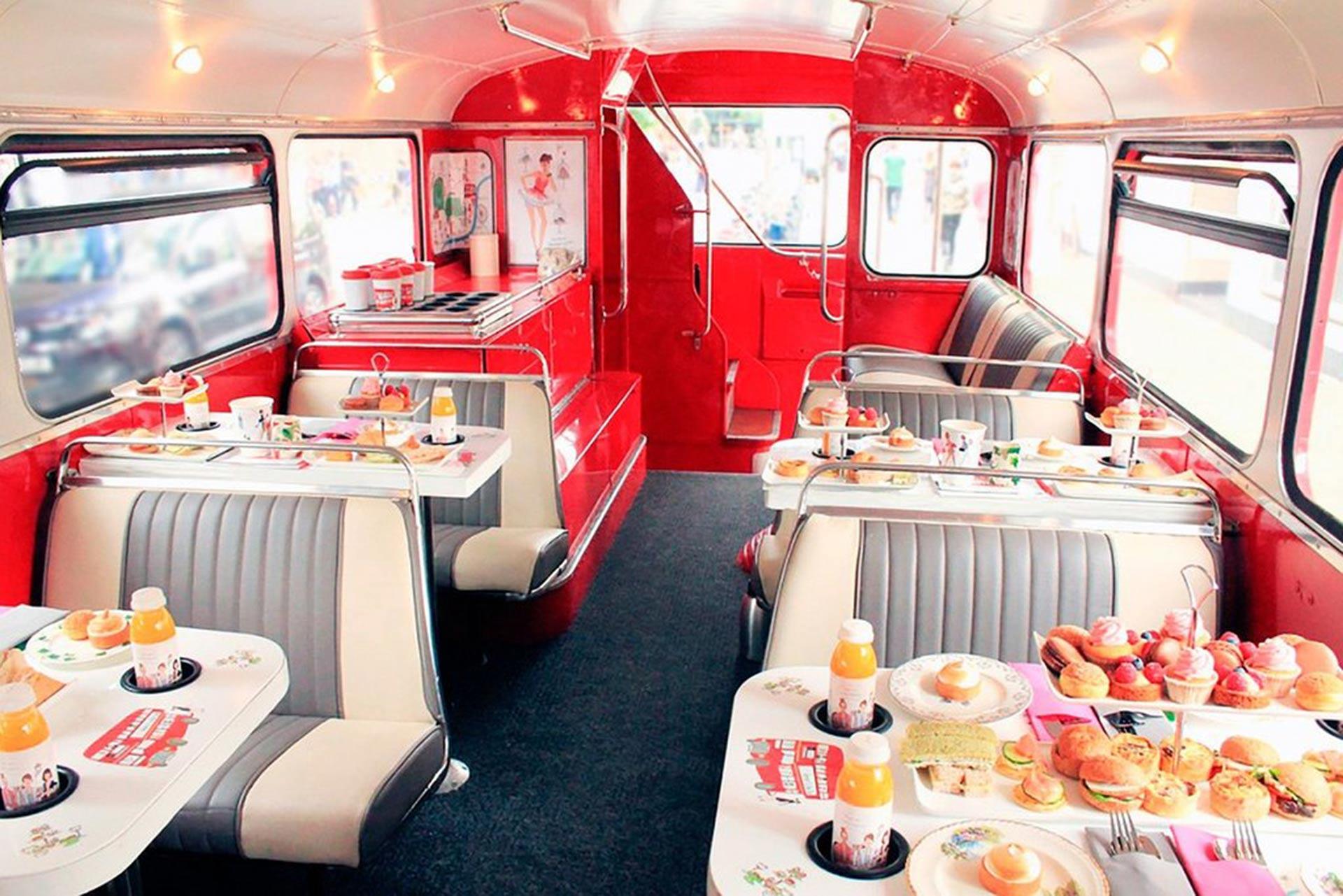 B Bakery Afternoon Tea London Bus Tour