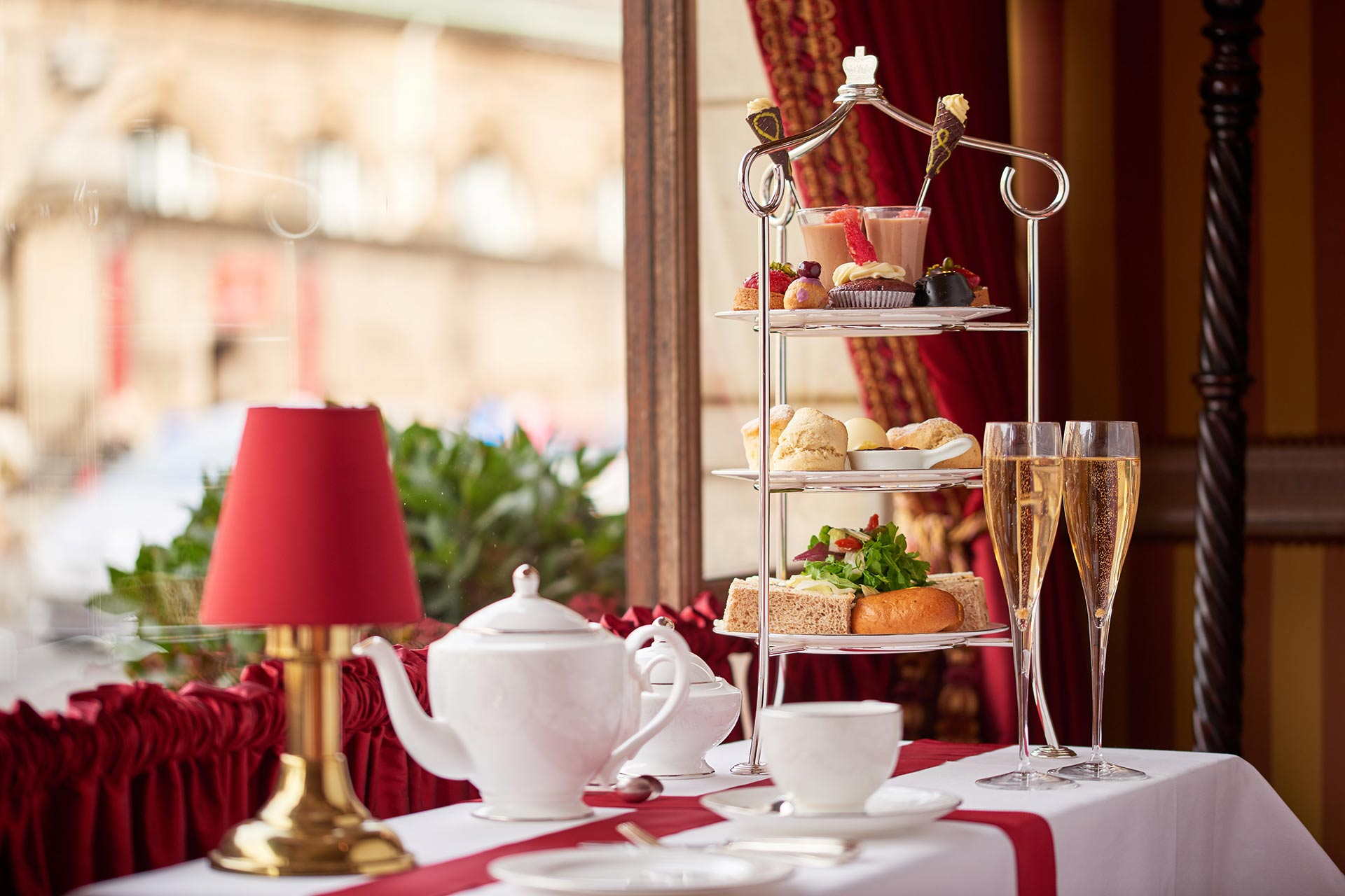 Rubens' Royal Afternoon Tea at The Rubens at the Palace in London
