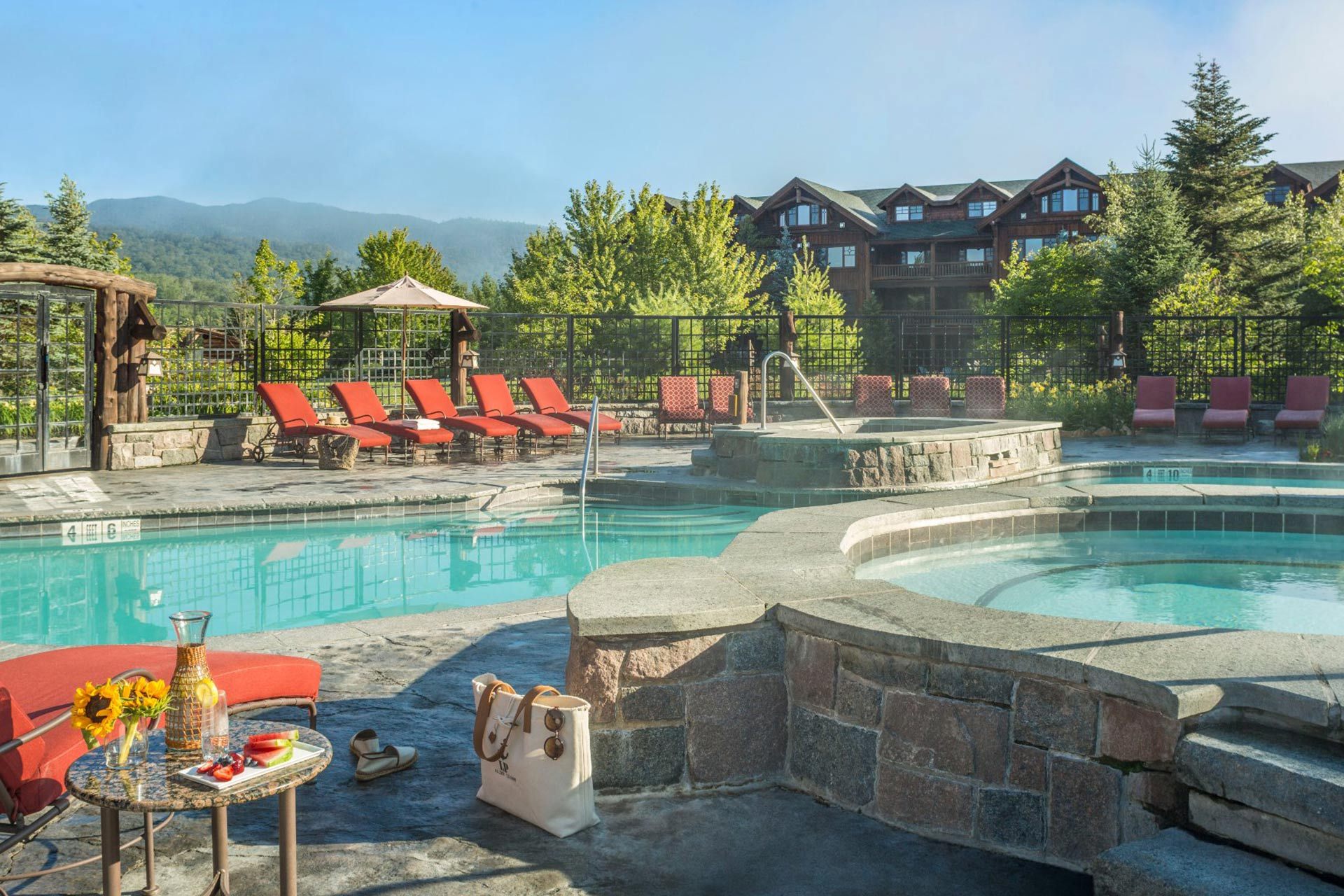 Whiteface Lodge in Lake Placid, New York