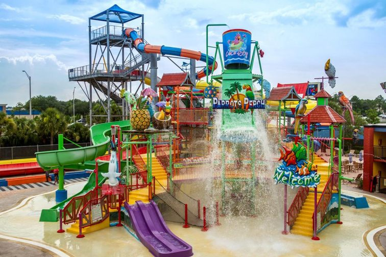 Water Park at CoCo Key Hotel and Water Park Resort in Florida; Courtesy of CoCo Key Hotel and Water Park Resort