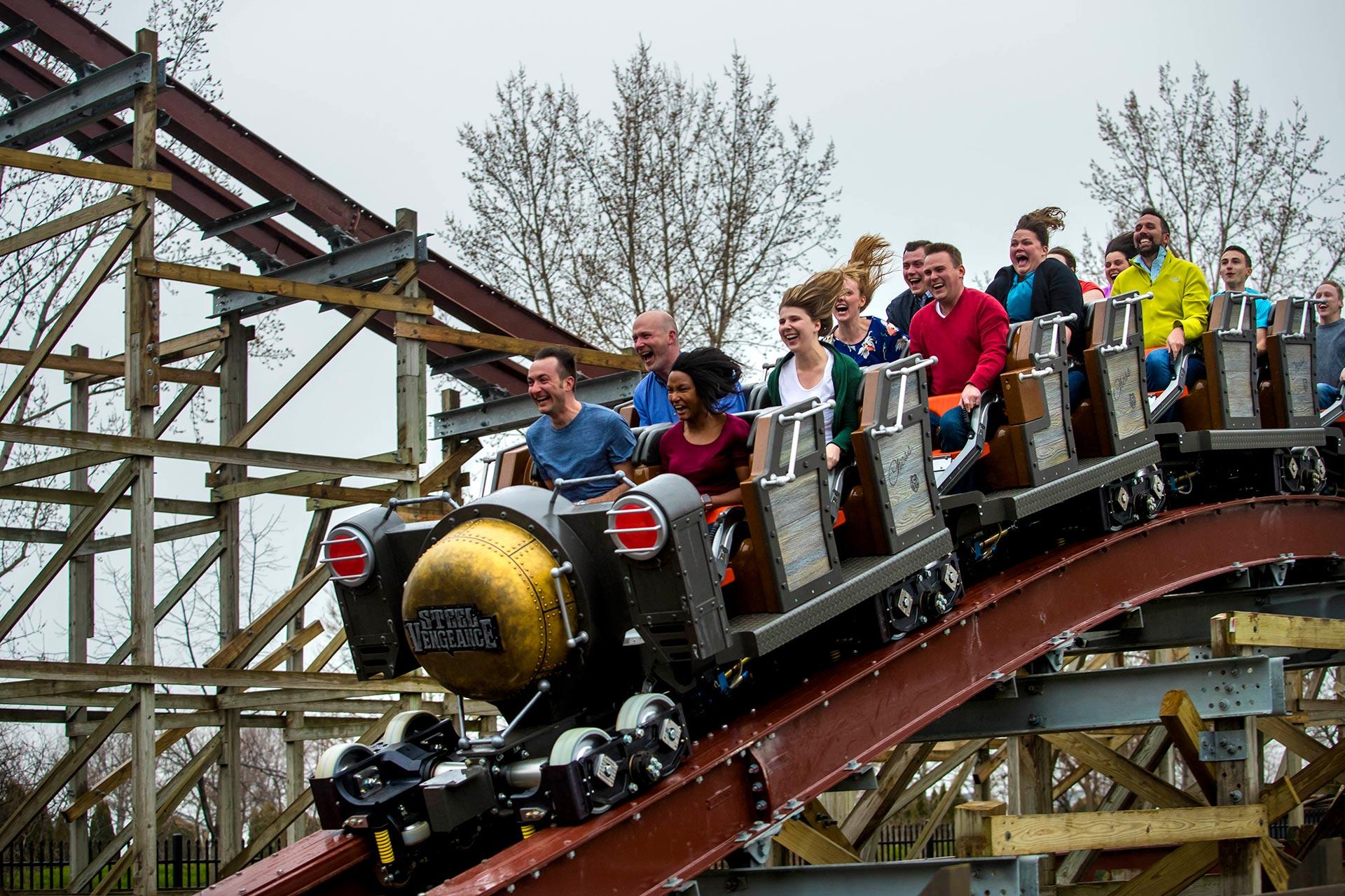Steel Vengeance at Cedar Point in Ohio