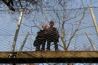 Europe Spring Break - Amsterdam: Playing in Vondel Park