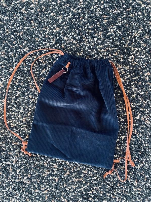 Gymtasje donkerblauw